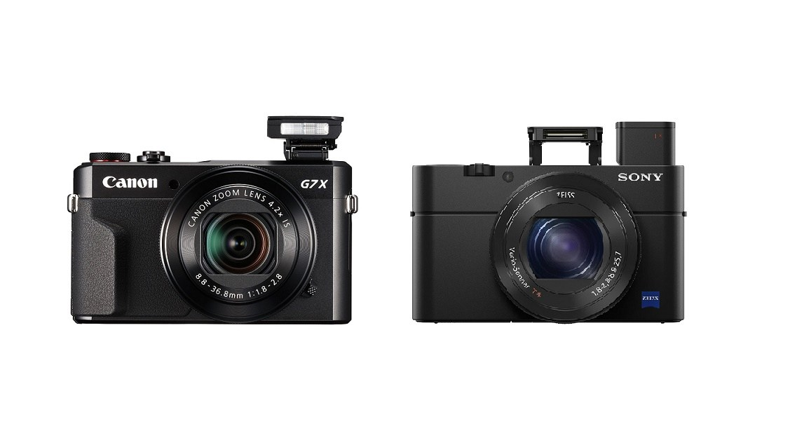 sony g7x. read more : canon powershot g7x mark ii vs sony rx100 iv comparison g7x r