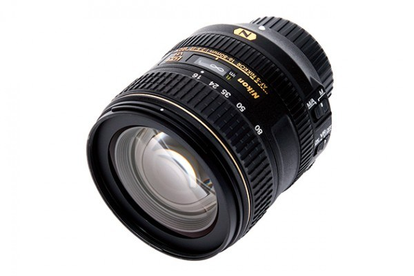 Can dx format lenses be used on d80